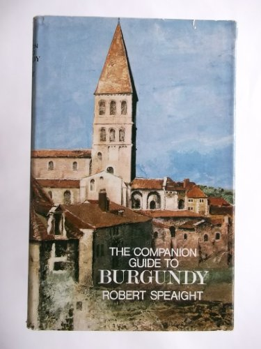 9780002161046: The companion guide to Burgundy