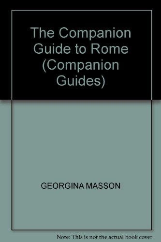 9780002162777: THE COMPANION GUIDE TO ROME (COMPANION GUIDES)