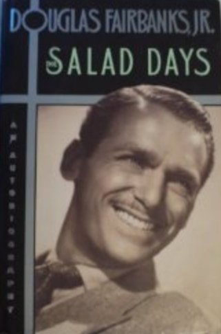 9780002163323: THE SALAD DAYS: AN AUTOBIOGRAPHY [LARGE PRINT]