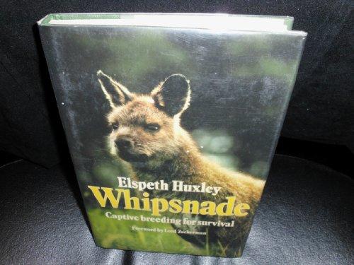 9780002163415: Whipsnade Idea: Captive Breeding for Survival