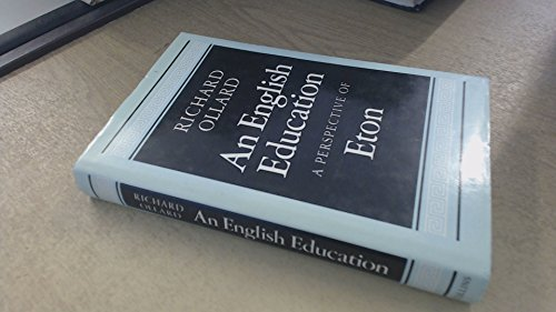 9780002164955: English Education: A Perspective of Eton