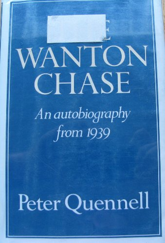 9780002165266: Wanton Chase: An Autobiography from 1939