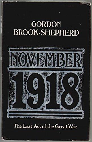 9780002165587: November, 1918