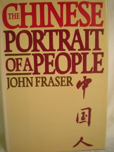 9780002168175: The Chinese, Portrait Of A People