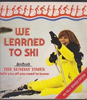 9780002168687: We Learn to Ski Limp