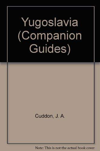 Yugoslavia (Companion Guides) (0002170450) by Cuddon, J.A.