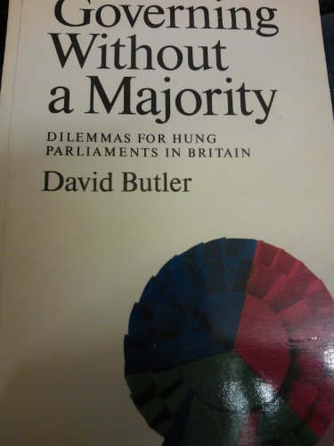 9780002170710: Governing without a Majority