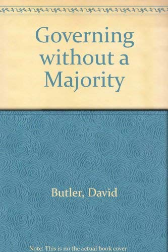 9780002171540: Governing without a Majority