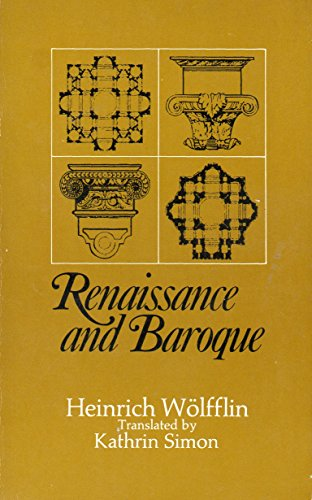 9780002173490: Renaissance and Baroque