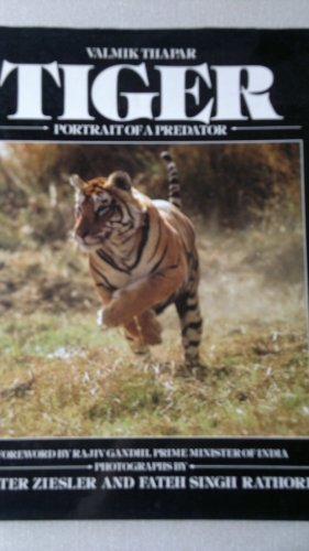 9780002174497: Tiger: Portrait of a Predator