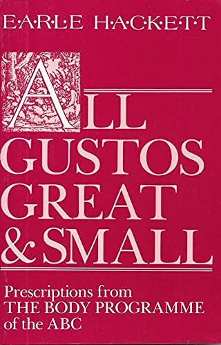 9780002174992: All Gustos Great and Small