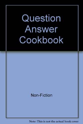 9780002175487: Question Answer Cookbook