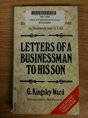 9780002175814: Letters of a Businessman to His Son