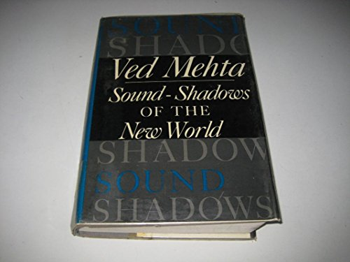 9780002176095: Sound Shadows of the New World