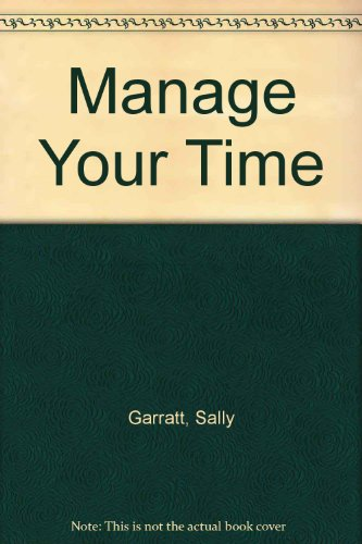 9780002176118: Manage Your Time