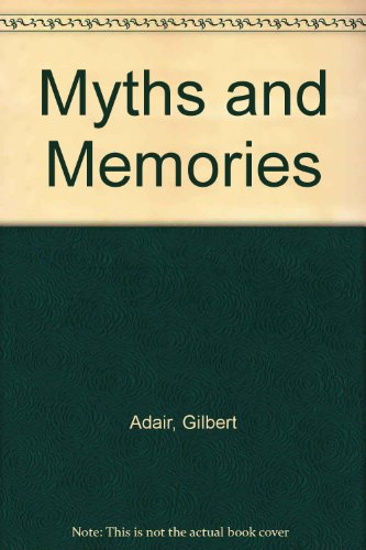 9780002177368: Myths and Memories