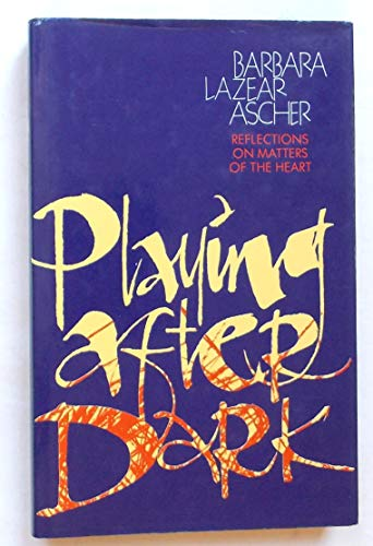 9780002178020: Playing After Dark