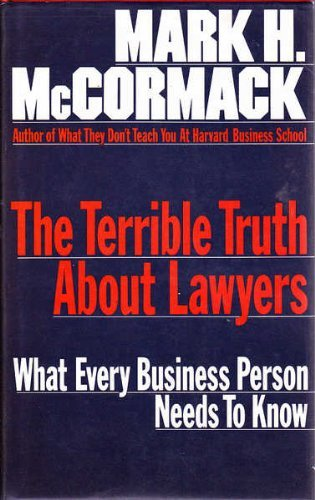 9780002178693: The Terrible Truth About Lawyers