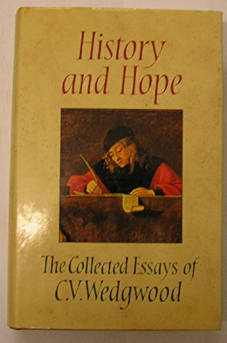 9780002179607: History and Hope - Collected Essays