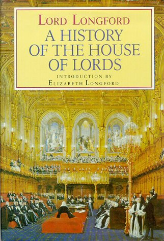 9780002179898: A History of the House of Lords