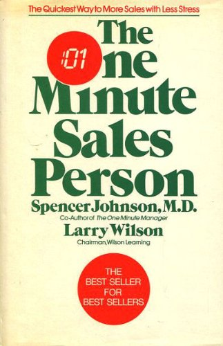 9780002181808: One Minute Manager: Salesperson (The One Minute Manager)
