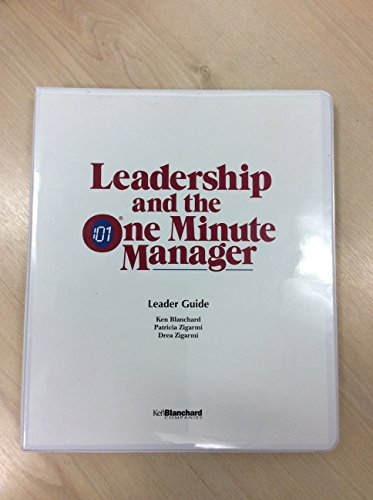 9780002182072: Leadership and the One Minute Manager