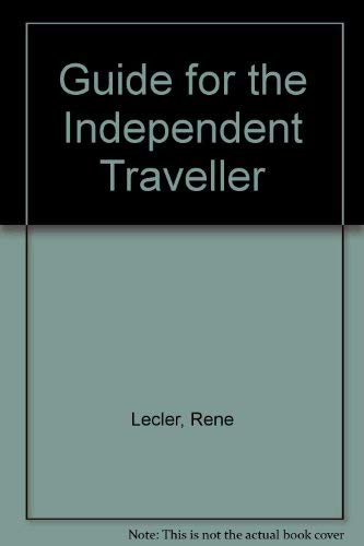 9780002182232: Guide for the Independent Traveller (A Harpers & Queen publication)