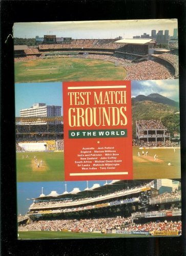 Test Match Grounds (9780002182829) by Williams, Marcus; Pollard, Jack; Bose, Mihir; Cozier, Tony; Et Al