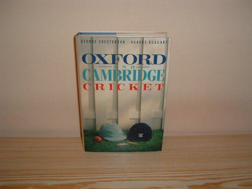 9780002182959: Oxford and Cambridge Cricket (The MCC cricket library)
