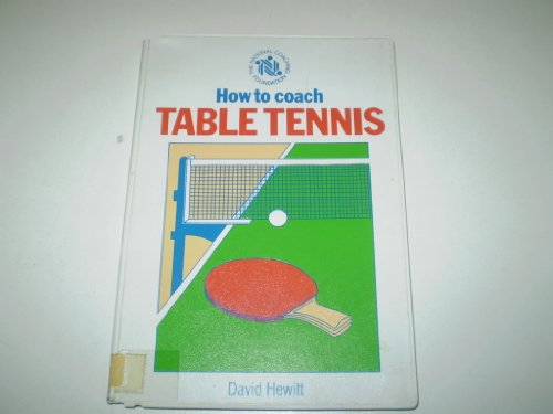 9780002183277: How to Coach Table Tennis