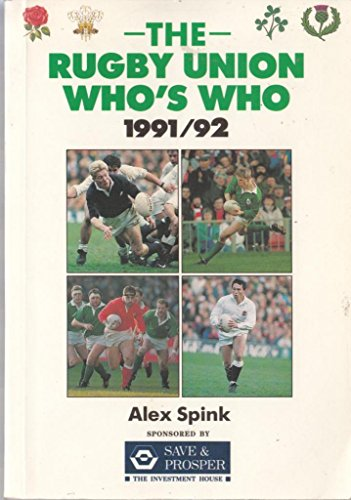 9780002183918: The Rugby Union Who's Who 1991-92