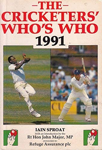 9780002183963: The Cricketers' Who's Who 1991