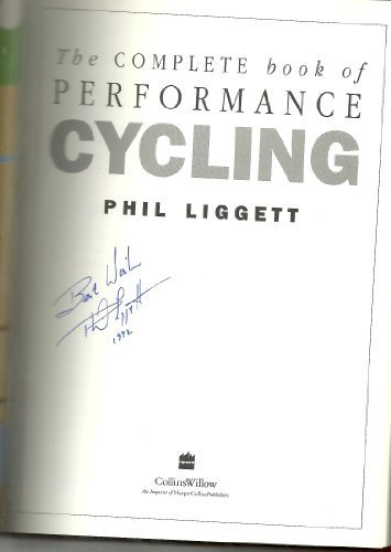 9780002184083: The Complete Book of Performance Cycling