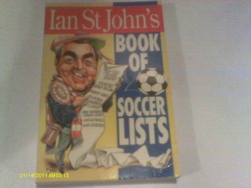 9780002184359: Ian St.John's Book of Soccer Lists