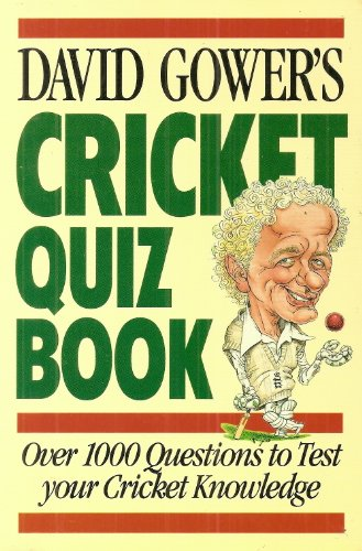 9780002184823: David Gower's Cricket Quiz Book