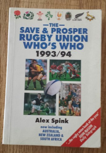 9780002185271: The Save and Prosper Rugby Union Who's Who 1993-94