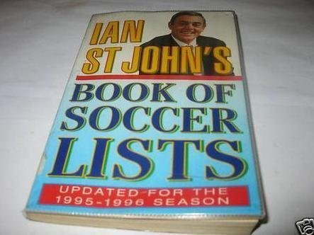 9780002187114: Ian St.John's Book of Soccer Lists