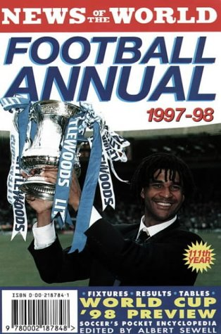 9780002187848: News of the World Football Annual 1997/1998 (Annuals)