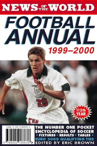 9780002188838: News of the World Football Annual 1999/2000
