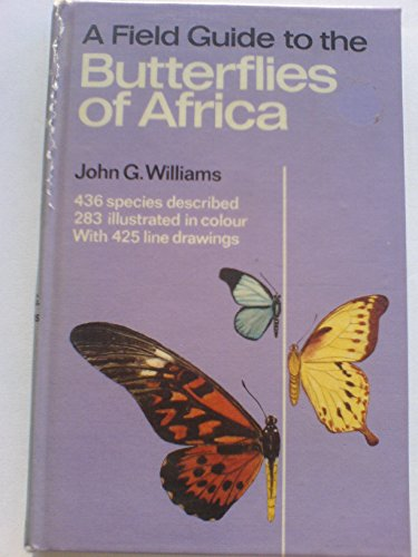 9780002190275: A Field Guide to the Butterflies of Africa