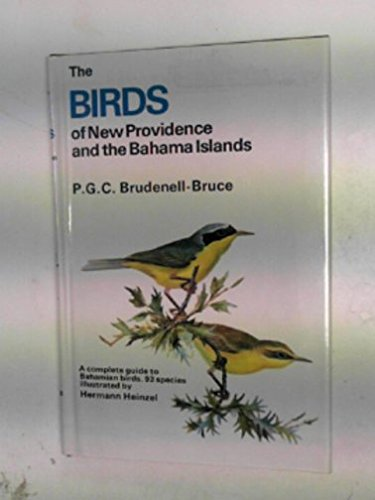 The Birds of New Providence and the Bahama Islands (Collins Pocket Guide)