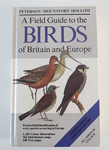 9780002190732: A Field Guide to the Birds of Britain and Europe (Collins Field Guide)