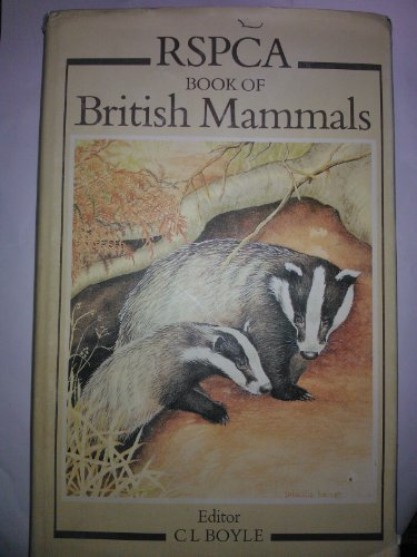 9780002191180: Royal Society for the Prevention of Cruelty to Animals Book of British Mammals