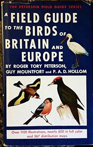 9780002191777: A Field Guide to the Birds of Britain and Europe