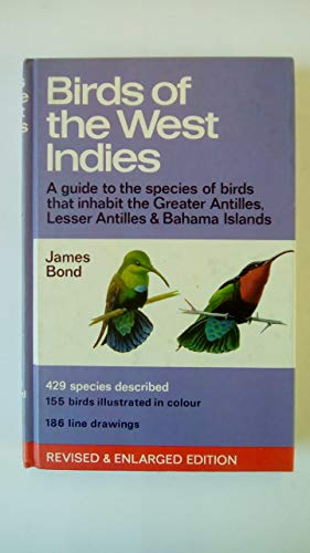 9780002191906: Birds of the West Indies