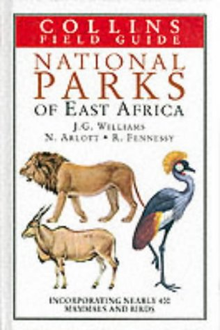 9780002192156: National Parks of East Africa (Collins Field Guides)