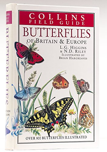 9780002192415: Field Guide to the Butterflies of Britain and Europe (Collins Field Guide)