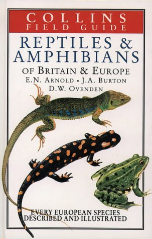 9780002193184: Field Guide to the Reptiles and Amphibians of Britain and Europe (Collins Field Guide)