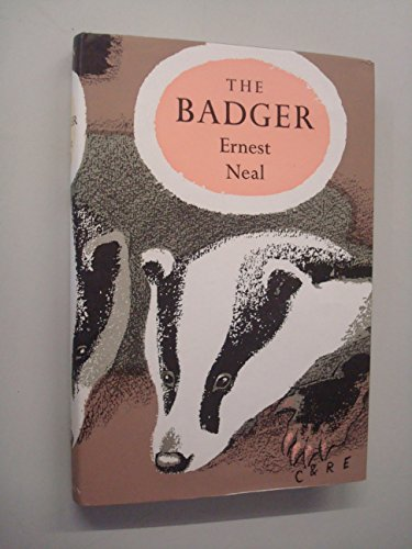9780002193993: The Badger (New Naturalist Monographs Series)