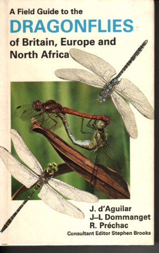 9780002194365: A Field Guide to the Dragonflies of Britain, Europe and North Africa